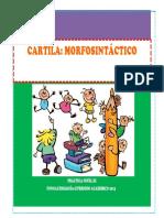 CARTILLA MORFOSINTACTICO