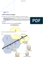 GSM Network Example