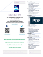 District 22 Newsletter May 2019