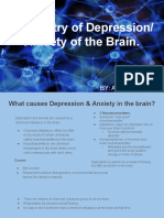 chemistry of depression  anxiety of the brain