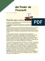 Teoría Del Poder de Michel Foucault