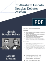 election of abraham lincoln