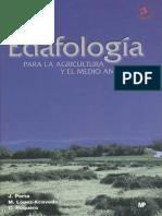 Edafologia Para La Agricultura y El Medio Ambiente
