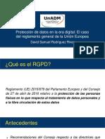 Samuel Rodríguez - Presentación RGDP