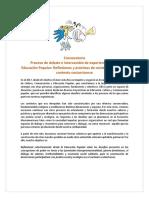 Convocatoria Intercambio EP 2019