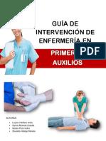 Guia de Intervencion de Enfermeria