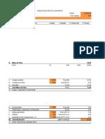 Analisis de Precios Unitarios TODOS de LA REVISTA (2)