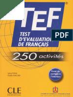 FRENCHPDF.COM TEF test d'evaluation de français_text
