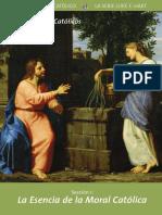 La Escencia de La Moral Catolica
