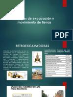 Equipos de Excavación y Movimiento de Tierras