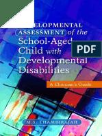 Book Thambirajah 2011 Developmental Assessment