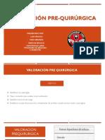 Valoracion Pre y Post Quirurgica