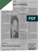 Edgard Romero Nava - Consecomercio Apoya El Referendum - Luis Amelia Rodriguez Economia Hoy 1989