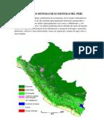 Principales Sistemas de Ecositemas Del Peru