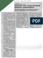Edgard Romero Nava - Consecomercio No Concertara Futuros Ajustes Salariales - Diario La Columna 27.12.1989