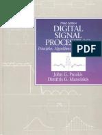 DigitalSignalProcessing 3rdEd Proakis Monalikis