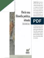 Auat, Alejandro (2011) - Hacia Una Filosofía Política Situada