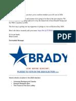 BradyPac - Fwd Voter Record