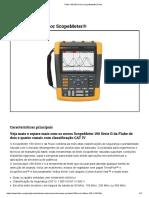 Fluke-190-204 Color ScopeMeter® _ Fluke