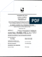 Resol 047 May - Sep 2019 Pregrado Cali