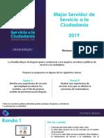 Mejor Servidor Público 2019