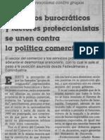 Edgard Romero Nava - Elementos Burocraticos y Factores Proteccionistas Se Unen Contra La Politica Comercial - 1989