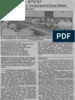 Edgard Romero Nava - EliminarPVP Proponen Comerciantes Al Ejecutivo - El Nacional 20.11.1989