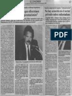 Edgard Romero Nava - Lo Que Ofrecemos Es Pagar Doble Las Prestaciones - El Diario de Caracas 04.11.1989