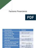 01.- Factores Financieros