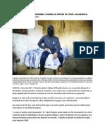 En Venezuela Los Criminales Sienten El Efecto de La Crisis Económica
