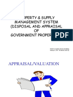 Disposal and Appraisal of Government Properties