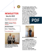 Moraga Rotary Newsletter May 28