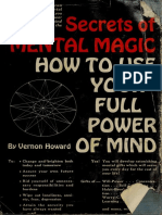 Howard, Vernon Linwood - Secrets of Mental Magic _ How to Use Your Full Power of Mind (1964, New Life Publication)