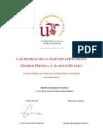 Las Teorías de La Comunicación Según George Orwell y Aldous Huxley