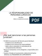 La Responsabilidad de Personas Juridicas