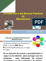 GMP Buenas Practicas de Manufactura