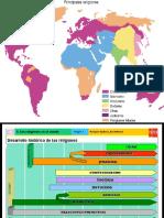 Mapas de religiones 7°