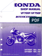 VF700F VF750F 83-85 Shop Manual