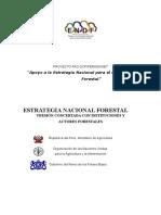 Estrategia Nacional Forestal 2002 2021
