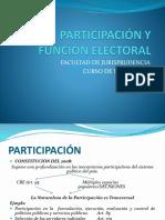 Participación y Función Electoral