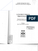 Los Recursos Procesales - MOSQUERA Y MATURANA