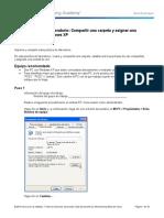 6.8.4.9. Práctica de Laboratorio_ Compartir Una Carpeta y Asignar Una Unidad de Red en Windows XP