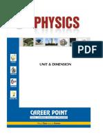 Dimensions Formulas PDF