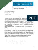 MODELAGEM PREDITIVA DE EXTRAVASAMENTO EM BACIA DE CONTENÇÃO DE EFLUENTES