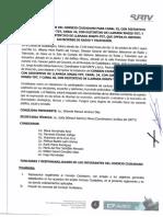 Acta de Instalacion Del Consejo Ciudadano Para Los Canales de Televisión 25, 24 y 46