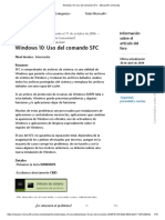 Windows 10_ Uso Del Comando SFC - Microsoft Community