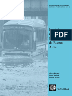 Inundaciones en el area metropolitana de Buenos Aires