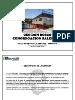 Presentacion - Ceo Don Bosco