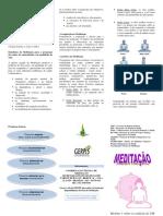 12. Folder Meditacao