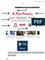Gobierno Regional Pasco _ Perú